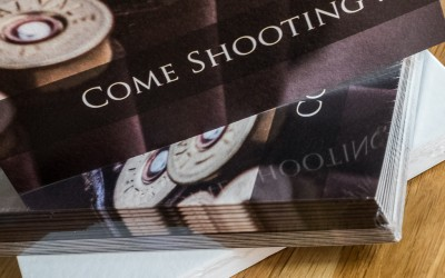 Now Offering Game Shoot Invitations