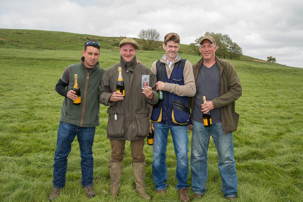 Welham Lane Game Farm (left to right: Russ Armstrong, Marek Kwisiuk, Jason Dawes, Garry Wallhead)